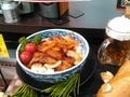 豚バラ肉鉄板焼 98円(税抜)