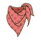 スカーフ 370円(税抜)