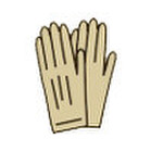 手袋 368円(税抜)