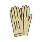 手袋 328円(税抜)