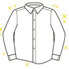 温洗ワイシャツ【毎日】 138円(税抜)