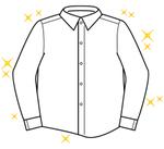 温洗ワイシャツ【毎日】 130円(税抜)