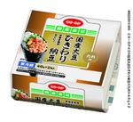 国産大豆ひきわり納豆 95円(税抜)