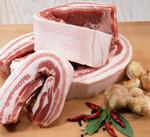 豚バラ(ブロック・うす切り) 199円(税抜)