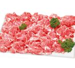 和牛(黒毛和種)A4またはA5 (バラ肉・肩肉・もも肉)切り落とし 359円(税抜)
