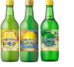 お酒にプラス・レモン・グレープフルーツ・ライム 各種 431円(税込)