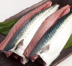 徳島県産鳴門わかめ・ノルウェー産(解凍)塩さばフィレー(2枚入り) 580円(税抜)