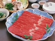 牛しゃぶしゃぶ用(肩ロース) 1,380円(税抜)