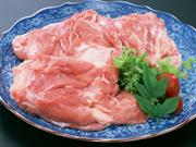 タイ産 海養鶏モモ肉角切り 100g当り 128円(税抜)