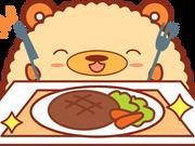 ハンバーグ(4個) 278円(税抜)