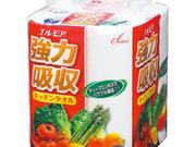エルモア強力吸収キッチンタオル4ロール 138円(税抜)