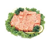 牛サイコロステーキ用(成型肉・解凍) 88円(税抜)