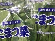 小松菜 61円(税抜)