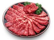 国産黒毛和牛焼肉用もも肉 398円(税抜)