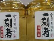 宝酒造 全量芋焼酎「一刻者」〈樽貯蔵〉25°720ml 1,520円(税抜)