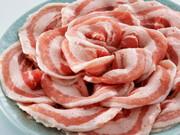 カナダ産 ハーブ三元豚豚バラスライス 100g当り 128円(税抜)