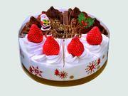 25)苺とチョコのケーキ6号3467円の品を2割引 2,773円(税抜)