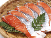 甘口銀鮭切身(養殖・解凍) 106円(税込)