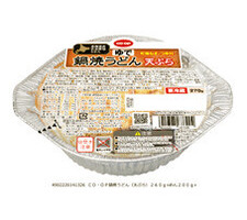 鍋焼うどん 天ぷら 178円(税抜)