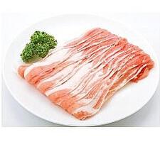 豚バラ薄切り 198円(税抜)