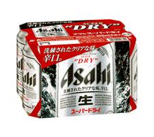 アサヒ スーパードライ 1,037円(税抜)
