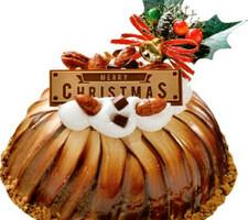 チョコとナッツのボンブケーキ4号(直径約13cm) 1,610円(税抜)
