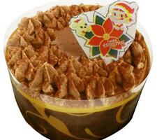 チョコレートケーキ3号(直径約9cm) 700円(税抜)