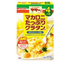 マ・マー マカロニたっぷりグラタンホワイトソース用4人前 158円(税抜)