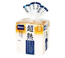 パスコ 超熟 8枚切 138円(税抜)
