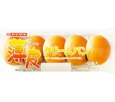 ヤマザキ 薄皮クリームパン 108円(税抜)