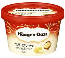 ハーゲンダッツ ミニカップ マカデミアナッツ 197円(税抜)