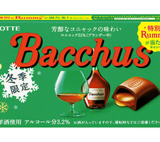 ロッテ バッカス 158円(税抜)