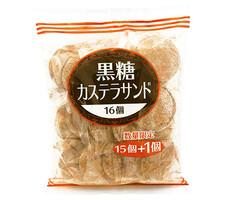 ママ 黒糖カステラサンド 248円(税抜)