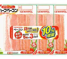 プリマハム 新鮮使い切りベーコン10%増量 228円(税抜)