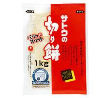 サトウの切り餅 パリッとスリット 598円(税抜)