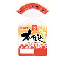 フジパン 本仕込食パン 5枚切 129円(税抜)