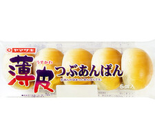 ヤマザキ 薄皮つぶあんぱん 108円(税抜)
