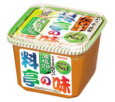 マルコメ 料亭の味減塩 258円(税抜)
