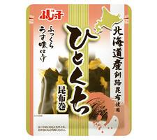 フジッコ うす味仕上げひとくち昆布巻 278円(税抜)
