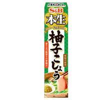 S&B 本生 柚子こしょう 117円(税抜)
