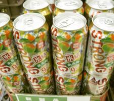 氷結ストロング南高梅 118円(税抜)