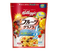 フルーツグラノラ ハーフ 497円(税抜)