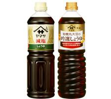 有機丸大豆の吟選しょうゆ・減塩 257円(税抜)
