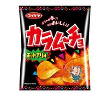 カラムーチョ・Cホットチリ味 67円(税抜)