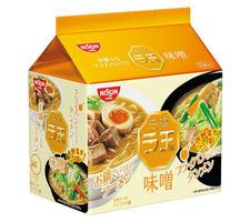 日清 ラ王 味噌 278円(税抜)