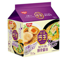 日清 ラ王 豚骨醤油 278円(税抜)