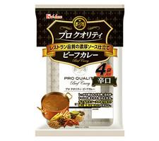 ハウス プロクオリティビーフカレー 4袋入り 辛口 328円(税抜)