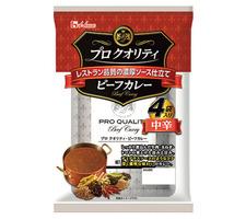 ハウス プロクオリティビーフカレー 4袋入り 中辛 328円(税抜)