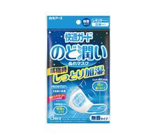 快適ガード のど潤い ぬれマスク 278円(税抜)