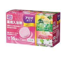 薬用入浴剤 アロマタイプ 368円(税抜)